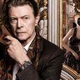 David Bowie photographié par David Sims pour L'invitation au voyage par Louis Vuitton.