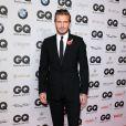 "David Beckham au gala ""GQ Men of the Year Awards"" à Berlin, le 7 novembre 2013."