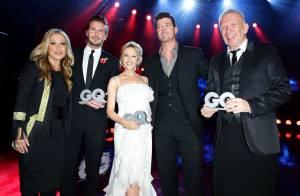 Kylie Minogue : Célibataire radieuse face à David Beckham et Jean Paul Gaultier