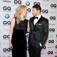 """Jette Joop et Kellan Lutz au gala """"GQ Men of the Year Awards"""" à Berlin, le 7 novembre 2013."""