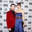 "Eva Padberg et son mari Niklas Worgt au gala ""GQ Men of the Year Awards"" à Berlin, le 7 novembre 2013."