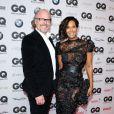 "Marie Amihere et Peter Olsson au gala ""GQ Men of the Year Awards"" à Berlin, le 7 novembre 2013."