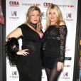 """Exclu - Cindy Lopes au restaurant Il Seguito à Paris, le 7 novembre 2013, lors de la soirée """"Cindy Lopes cuisine pour vous"""" - aux côtés de Célyne Durand"""