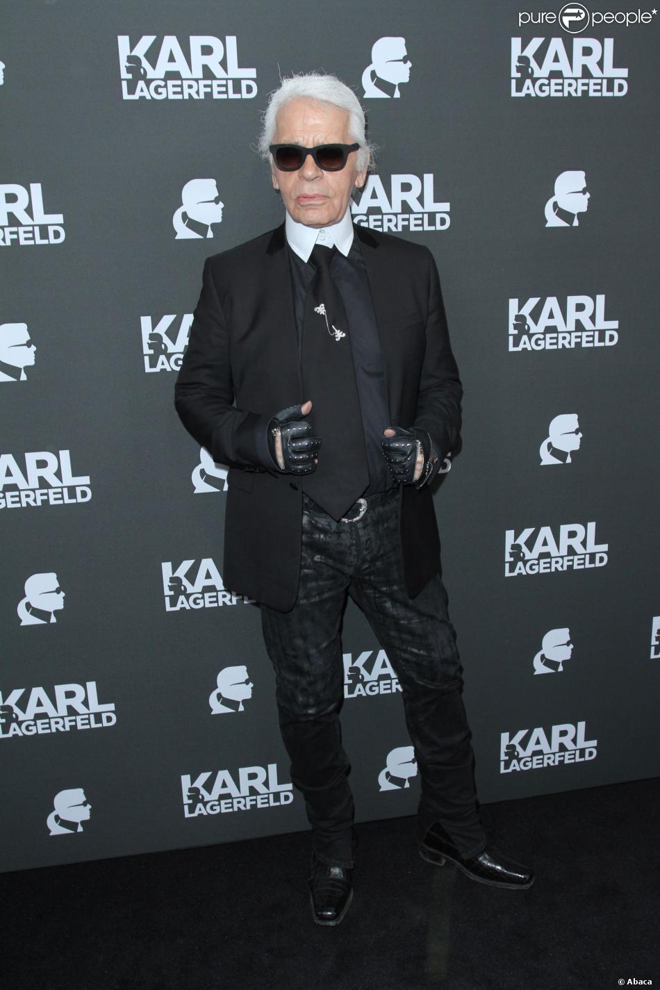 Karl Lagerfeld à Munich, le 4 septembre 2013.