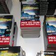 Jean Dujardin lors de la remise du prix polar Quai des Orfèvres 2014 à Hervé Jourdain, capitaine à la Crim', pour son livre Le sang de la trahison, à Paris, le 12 novembre 2013.