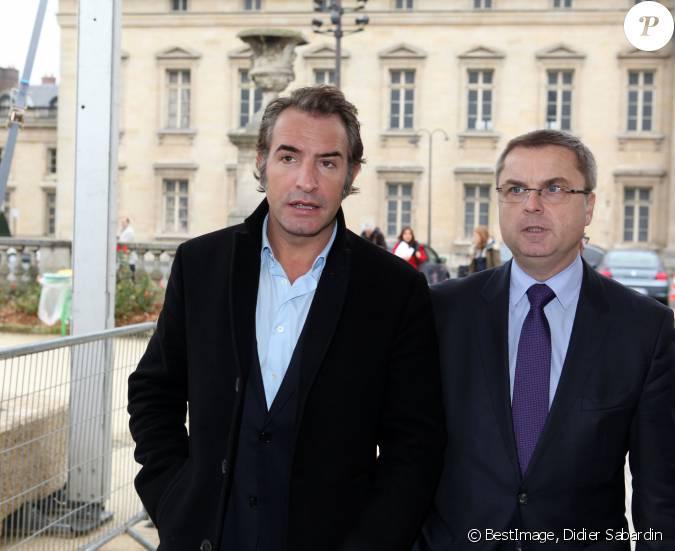 Jean dujardin et christian flaesch directeur de la police for Jean dujardin couple 2014