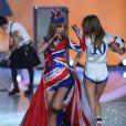Taylor Swift preste lors du défilé Victoria's Secret 2013 à la 69th Regiment Armory. New York, le 13 novembre 2013.