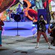 Le groupe Fall Out Boy lors du défilé Victoria's Secret 2013 à la 69th Regiment Armory. New York, le 13 novembre 2013.