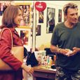 Nathalie Baye et Johnny Hallyday à Paris le 29 juin 2000.