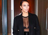 Kim Kardashian : Sexy pour son fiancé Kanye West, tendre avec sa fille North