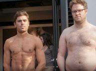 Zac Efron et Seth Rogen font tomber la chemise : Duel de torses nus