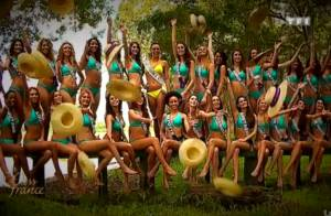 Miss France 2014 : Marine Lorphelin et les 33 Miss régionales sexy en bikini !