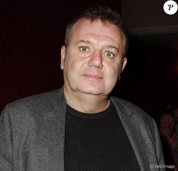Christophe Bourseiller lors de l'hommage à Antoine Bourseiller au studio des Champs-Élysées à Paris. Le 3 juin 2013.