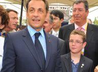 PHOTOS : Nicolas Sarkozy aux JO, un athlète parmi les athlètes... avec son jeune fils, mais sans Carla !