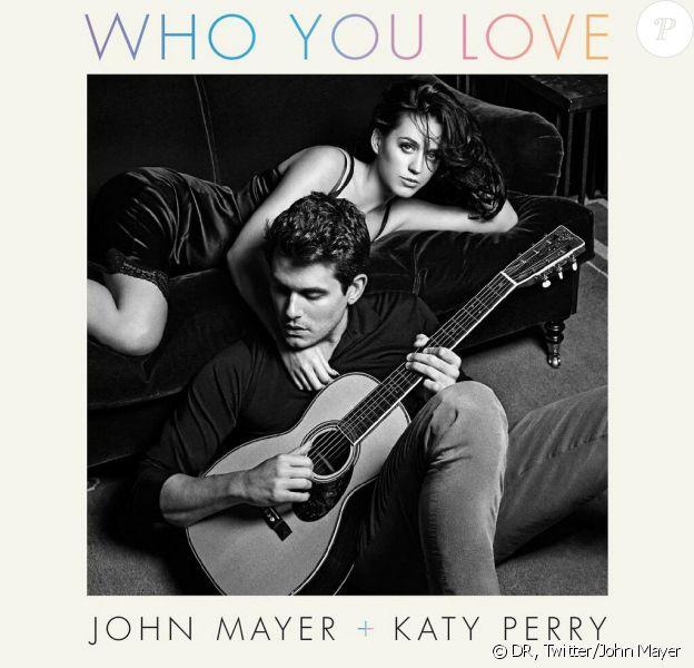 John Mayer a dévoilé la pochette de son single Who You Love en duo avec Katy Perry, le 2 décembre 2013.