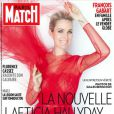Laeticia Hallyday en couverture de Paris Match, numéro paru le 31 janvier 2013.