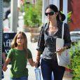 Courteney Cox et sa fille Coco à Beverly Hills, le 4 septembre 2012.