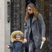 Miranda Kerr : Chic et souriante avec son fils et Orlando Bloom