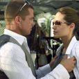 Personne n'osera prétendre que  Mr & Mrs Smith  (2005) est le meilleur film de Brad Pitt, mais ce film d'action est celui qui changera le cours de sa vie privée. Sur le tournage, il rencontre  Angelina Jolie , celle qui est aujourd'hui sa fiancée et la mère de ses six enfants. À l'époque, il quitte  Jennifer Aniston  et forme alors un couple  aussi glamour que médiatisé  avec Angie. Les Brangelina sont nés.
