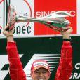 Michael Schumacher à Shanghai lors du Grand Prix de Chine le 1er octobre 2006