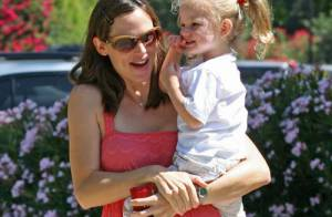 PHOTOS : Jennifer Garner, promenade mère-fille avec la petite Violet !