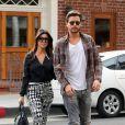 Kourtney Kardashian et Scott Disick se promènent à Los Angeles le 13 novembre 2013.