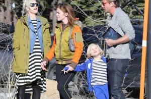 Gwen Stefani, enceinte : Fin des vacances au ski pour la star et sa famille