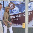 Cristina d'Espagne et son mari Iñaki Urdangarin, mis en examen dans le scandale Noos, le 3 septembre 2013 à Genève, en Suisse.