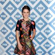 Jessica Stroup assiste à la soirée du Winter All-Star TCA Press Tour de la chaîne FOX à l'hôtel Langham Huntington. Pasadena, le 13 janvier 2014.