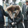 Madonna à New York, le 21 décembre 2013.