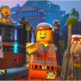 Les deux héros dans La Grande Aventure Lego.