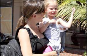 PHOTOS : Jennifer Garner ne veut pas lâcher sa fille !