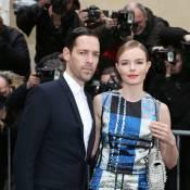 Fashion Week : Kate Bosworth radieuse et amoureuse chez Dior