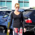 Melanie Griffith va faire du shopping avec sa fille Stella Banderas au Planet Blue de Beverly Hills, Los Angeles, le 20 janvier 2014.