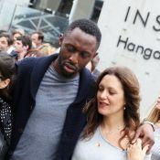 Karole Rocher, enceinte, et Thomas Ngijol : Les amoureux attendent une fille