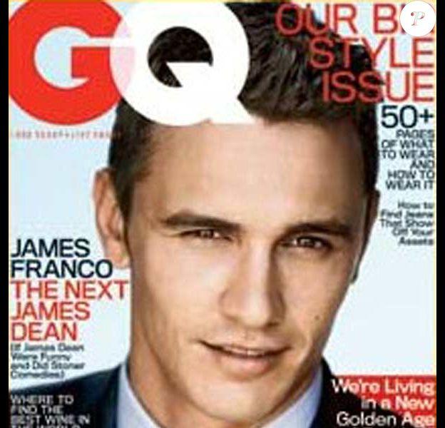 James Franco, so viril dans GQ