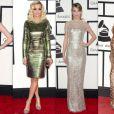 Anna Kendrick, Rita Ora, Taylor Swift et Ciara aux Grammy Awards 2014.
