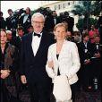 Daniel et Sophie Toscan du Plantier au Festival de Cannes, en mai 1995.