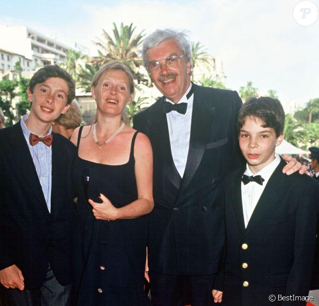Daniel et Sophie Toscan du Plantier au Festival de Cannes, mai 1994.