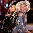 Miley Cyrus s'est offert un duo avec Madonna lors de son concert MTV Unplugged, diffusé le 29 janviers 2014.