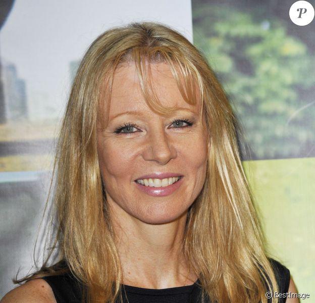 Florence Klein à la conférence de presse de France 3 en 2011.