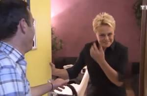 Muriel Robin vient en aide à une famille au côté de Marc-Emmanuel Dufour