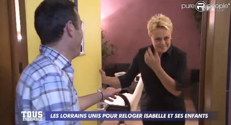 Muriel robin vient en aide une famille au c t de marc emmanuel dufour - Marc emmanuel tous pour un ...