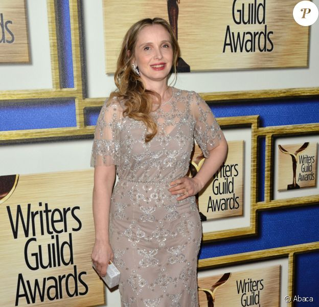 Julie Delpy lors des Writers Guild Awards à Los Angeles le 1er février 2014
