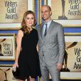 Sasha Alexander et Edoardo Ponti lors des Writers Guild Awards à Los Angeles le 1er février 2014