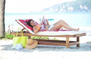 Tiffani Thiessen, 40 ans : Sexy naïade des plages, elle s'offre aux photographes