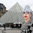 Lady Gaga à Paris, le 20 janvier 2014.