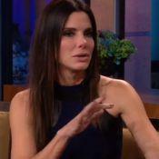 Sandra Bullock, bouleversée : En larmes pour un adieu émouvant