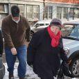Marilyn O'Connor lors de la veillée funèbre en l'honneur de Philip Seymour Hoffman à New York le 6 février 2014
