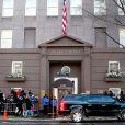 La veillée funèbre en l'honneur de Philip Seymour Hoffman à New York le 6 février 2014